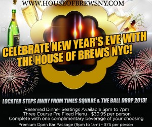 HouseofBrews_NewYearsEve2014