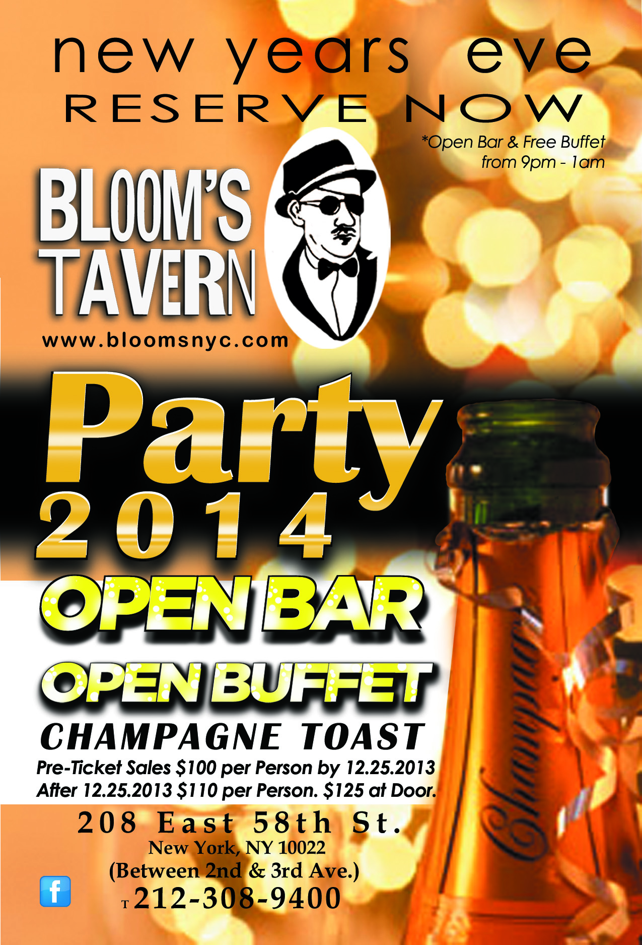 new years eve 2014 at blooms tavern murphguide nyc