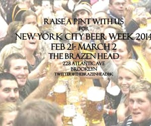 brazenhead_craftbeerweek2014
