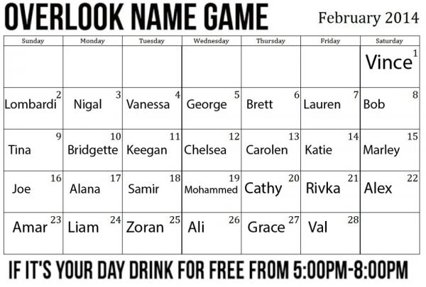 overlook_namegame_february2014