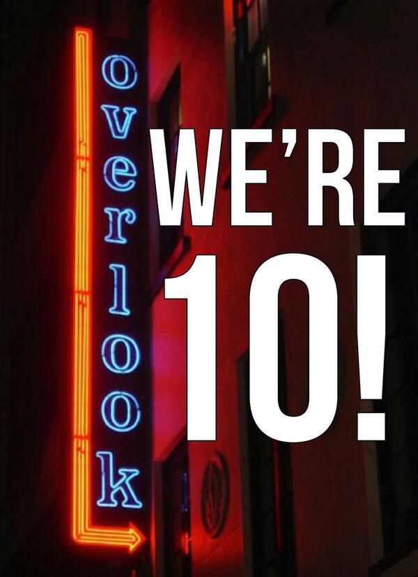 Overlook 10th Anniversary Celebration Murphguide Nyc