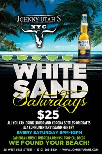 JohnnyUtahs_whitesand_saturdays