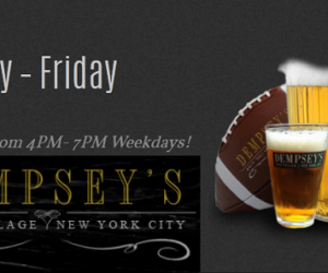 Dempsey's Pub Happy Hour