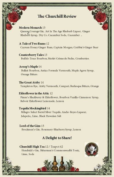 thechurchill-cocktail-list