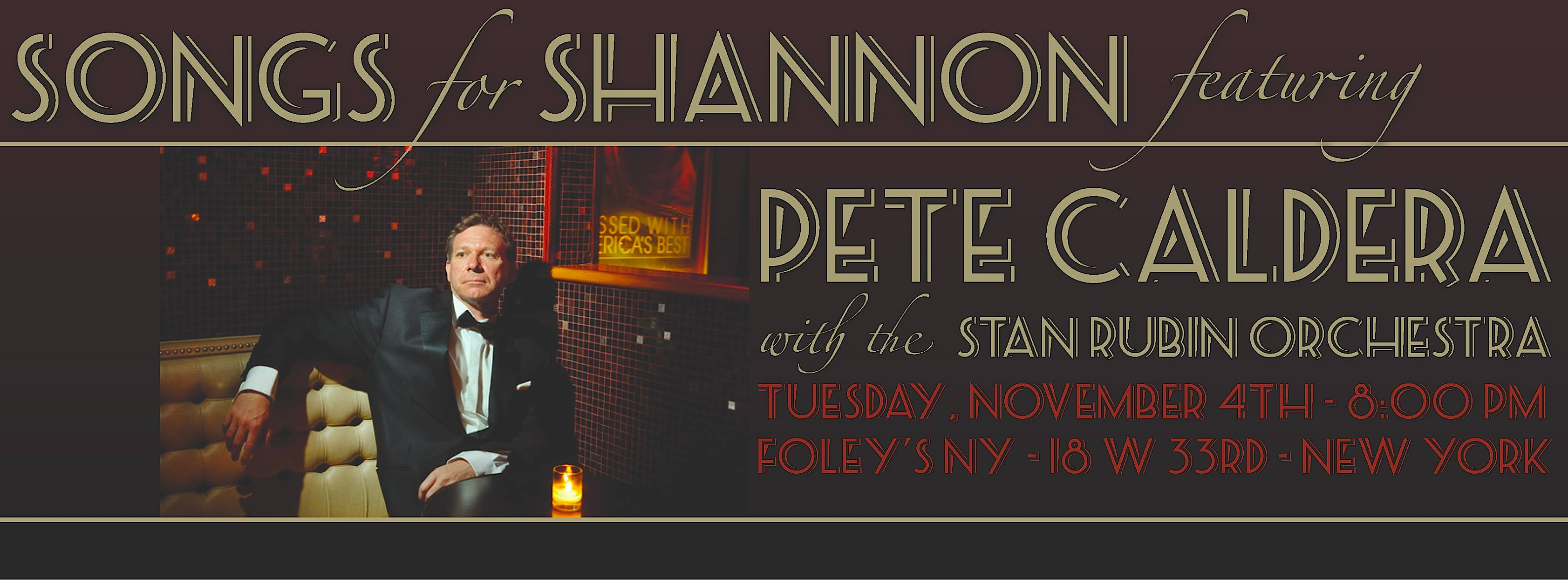 Songs for Shannon Benefit at Foley's - MurphGuide: NYC Bar Guide