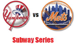 Yankees Mets Subway Series