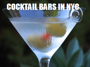 Top cocktail bars in NYC