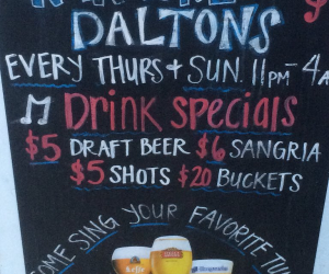daltons-karaoke