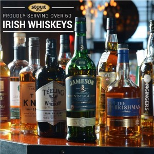 stout 50 irish whiskeys