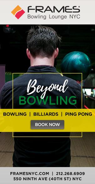 Frames Bowling Lounge - MurphGuide: NYC Bar Guide
