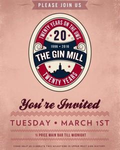 ginmill-20th-anniversary