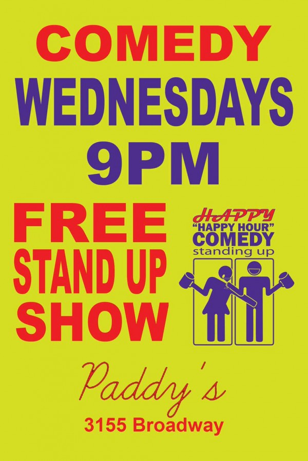 happy-happy-hour-wednesdays-yellow comedy