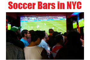 Soccer Bars in NYC