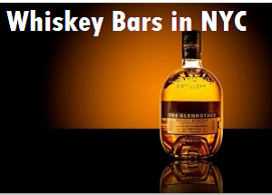 whiskey bars