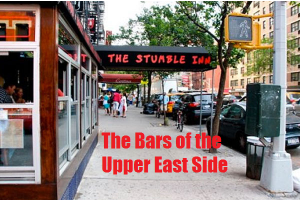 Upper East Side Bars - Directory of the Best Bars on the UES