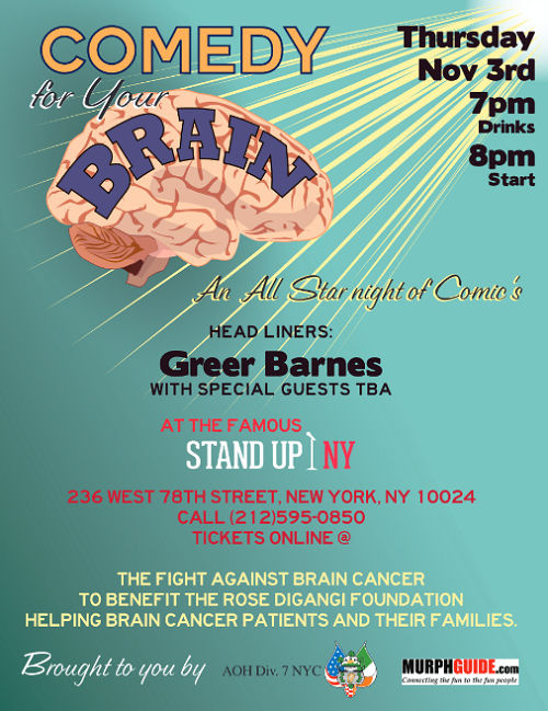 comedy for your brain - comedy benefit