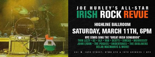 Joe Hurley's All-Star Irish Rock Revue 2017