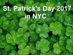St. Patrick's Day NYC