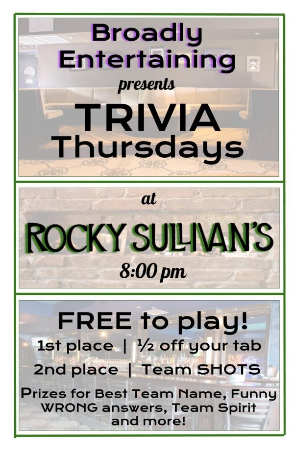 Pub Quiz at Rocky Sullivan's - MurphGuide: NYC Bar Guide