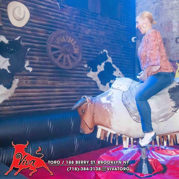 Mechanical Bull at Viva Toro, Brooklyn, NYC