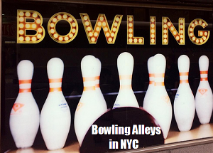 Bowling alleys in NYC