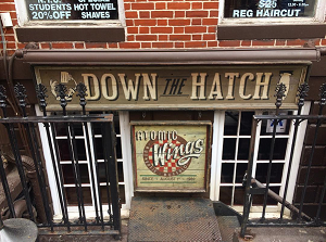 down the hatch exterior instagram 300x223 - 150+ Open BARS In Greenwich Village
