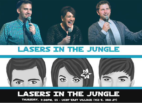 Lasers in the Jungle NYC