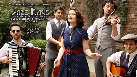 Avalon Jazz Band at Bierhaus - MurphGuide: NYC Bar Guide
