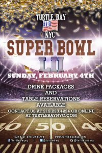 Super Bowl at Turtle Bay