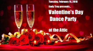 Andy Troy Valentine's Party