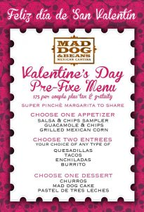 Mad Dog & Beans Valentine's