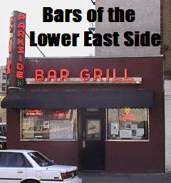 Bars of the Lower East Side