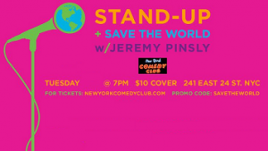 Stand Up & Save the World