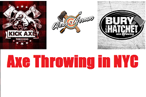 Axe Throwing in NYC