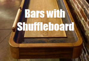 Bars with Shuffleboard in NYC