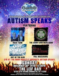 Canny Brothers autism speaks benefit