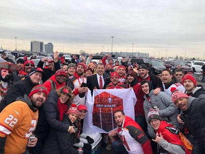 Tampa Bay Buccaneers Fans in NYC