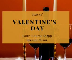 Valentine's Day at Cotta NYC