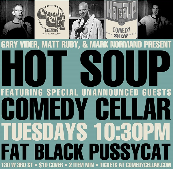 Hot Soup Comedy Show