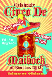 Cinco de Maibock at Bierhaus