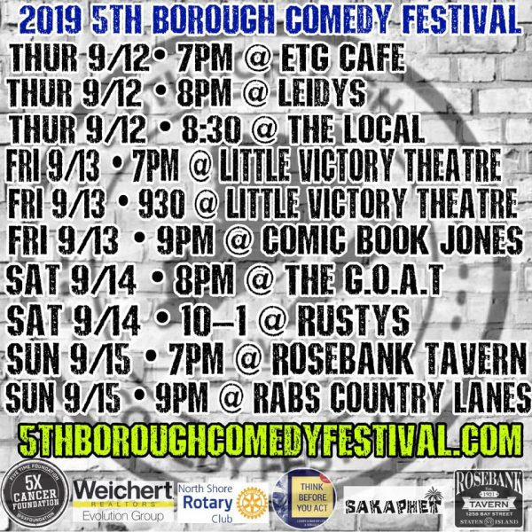 5th Borough Comedy Festival