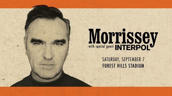Morrissey at Forest Hills Stadium