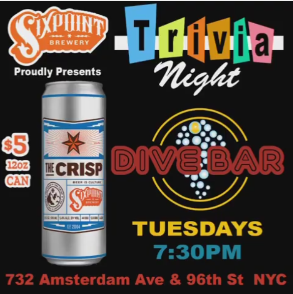 Trivia Night at Dive Bar