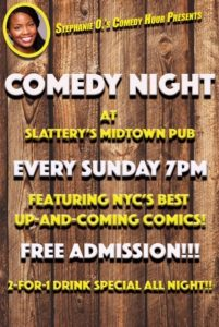 Comedy Night at Slattery's
