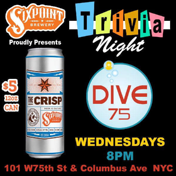 Trivia Night at Dive 75