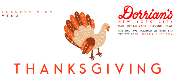 Thanksgiving at Dorrian's NYC