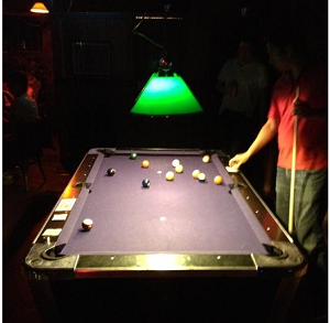 Cherry Tavern pool table