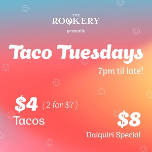Tuesday Tacos at The Rookery