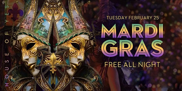 Mardi Gras at House of Yes