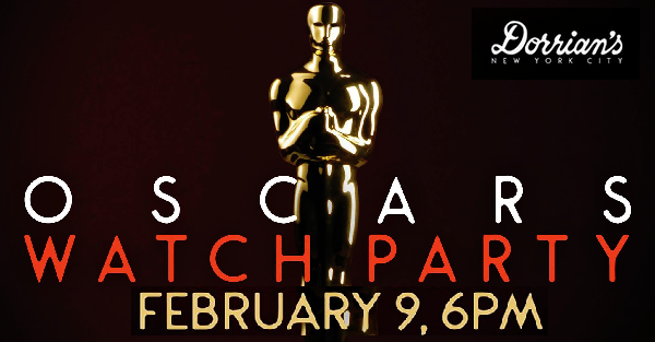 Oscar party at Dorrian's